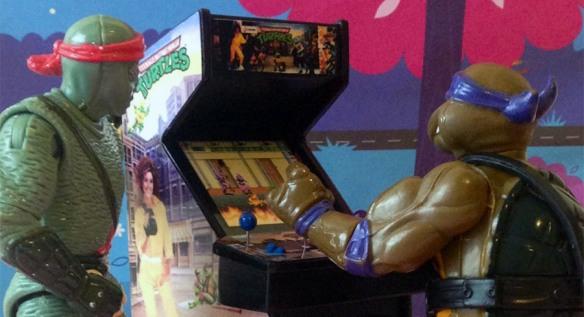 tmnt figure arcade
